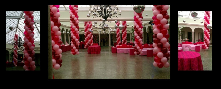 Painted Phoenix Events does amazing balloon and party decorations